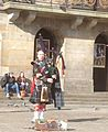 Bagpipe player Dam