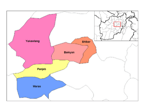 Bamyan districts
