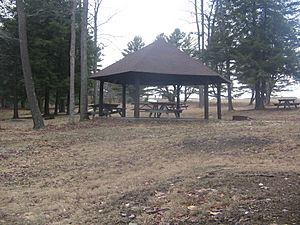 Cherry Springs State Park Small Pavilion