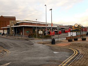 Chorley Bus Station - geograph.org.uk - 2786570