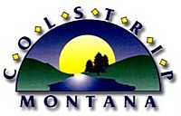 Official seal of Colstrip, Montana