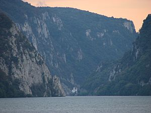 Evening at Danube gorge