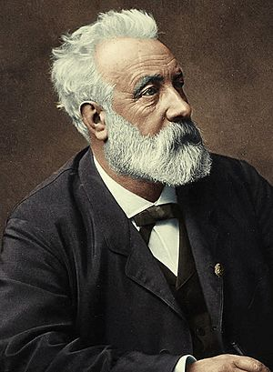 Jules Verne, 1892 (colored portrait)