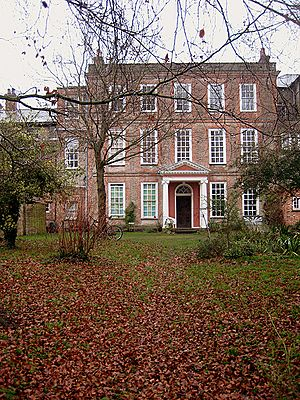 Old Hall, the old mansion façade, west facing - geograph.org.uk - 639887