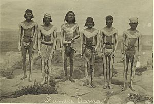 Runners, Acoma (1909)