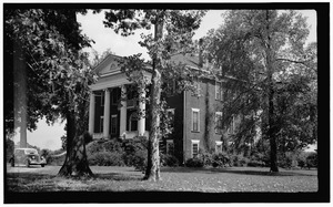 Battle House, NC Route 43-48 (Falls Road), Rocky Mount, Nash County, NC HABS NC,64-ROCMO,1-1