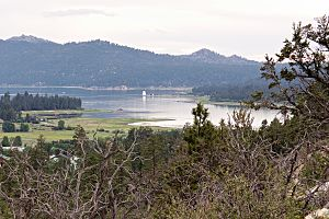 Big Bear Lake from the east 2015-06-28
