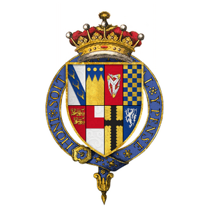 Coat of arms of Sir Edward Stanley, 3rd Earl of Derby, KG