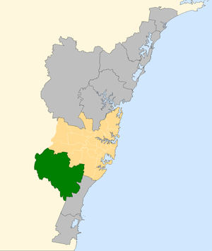 Division of Macarthur 2007
