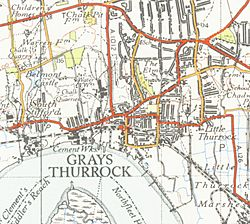 Grays Thurrockmap 1946