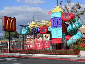 McDonald's with Prominent Playland