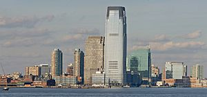 Jersey City Skyline Jan 2006