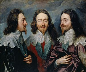 Sir Anthony Van Dyck - Charles I (1600-49) - Google Art Project