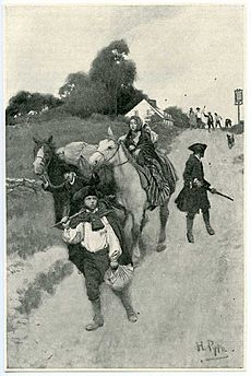 Tory Refugees by Howard Pyle