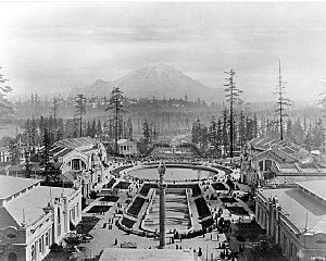 Alaska Yukon Pacific Exposition - Rainier Vista