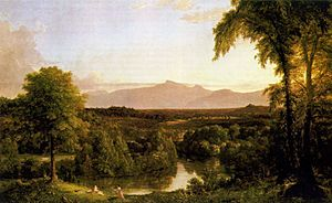 Cole Thomas View on the Catskill Early Autumn 1837