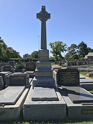 Grave of James and Sarah Scullin, Melbourne General Cemetery 2017
