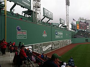 Green Monster at Fenway Park, 2013