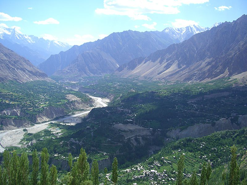 Hunza Valley from Eagle Point