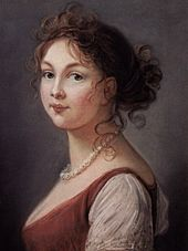 Louise, Queen of Prussia by Vigee-Lebrun (1801, Schloss Charlottenburg)
