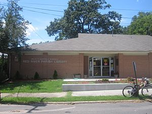 Red River Parish Library, Coushatta, LA IMG 2404