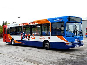 Stagecoach Dart 35211 in Jazz Livery