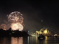 Sydney New Year's Eve 2