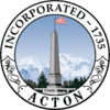 Official seal of Acton, Massachusetts