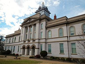 Cleburne County Alabama Courthouse 2012