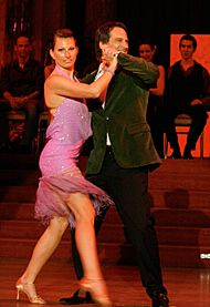 Petra Hübsch, Peter Tichatschek, dancer against cancer 2010