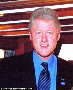 President Clinton on Sequoia 2001