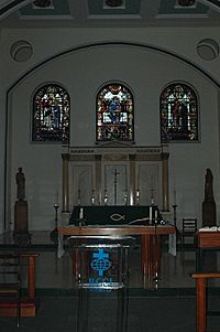 St Peter Walworth Interior