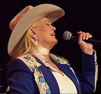 Lynn Anderson on stage April 2011