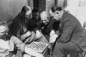 Norman Bethune checkers 1937