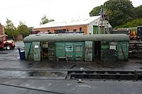 Old wagon used as a shed (10344623284).jpg