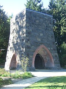Oregon Iron Company Furnace restored