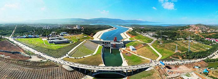 South–North Water Transfer Project Central route starting point taocha in Xichuan