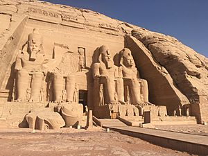 Abu Simbel main temple