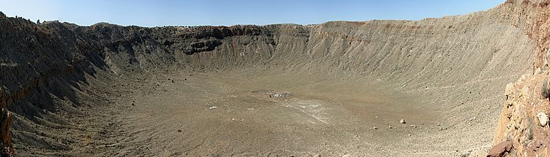 Barringer Crater panoramic