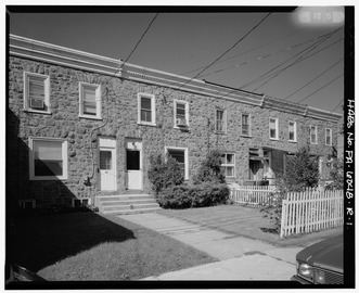 Keasbey and Mattison Company, Attached Row House Type, 100-114 South Chestnut Street, Ambler, Montgomery County, PA HABS PA,46-AMB,10R-1