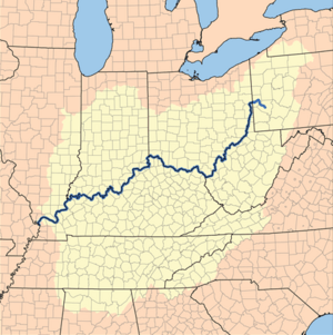 Ohio River basin