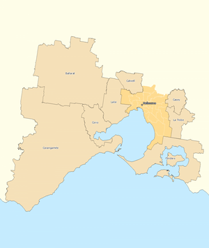 Outside Melbourne divisions overview 2010