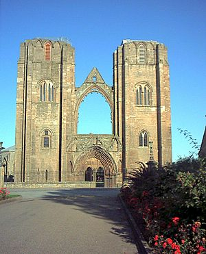 Scotland Elgin Cathedral