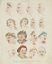 Sixteen faces expressing the human passions. Wellcome L0068375 (cropped)