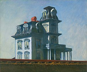 The House by the Railroad by Edward Hopper 1925