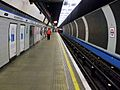 Walthamstow Central stn Victoria line look north