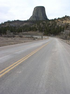 Devils Tower Entrance Road