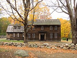 Hartwell Tavern in October, Lincoln MA
