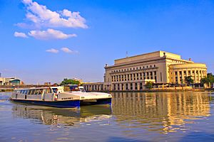 Manila Central Post office by the Pasig river
