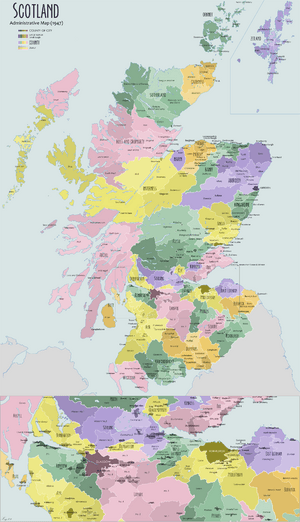Scotland Administrative Map 1947.png